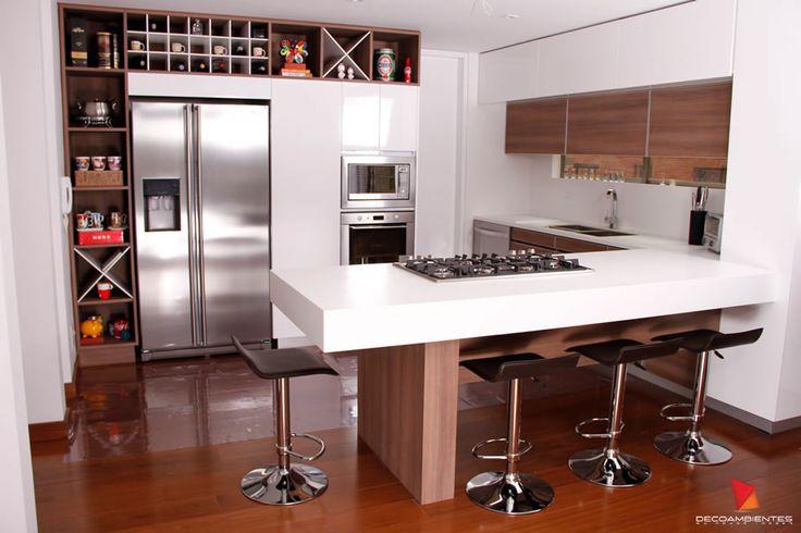 Cocina diseno bogota colombia google search kitchen for Disenos de cocinas pequenas con barra