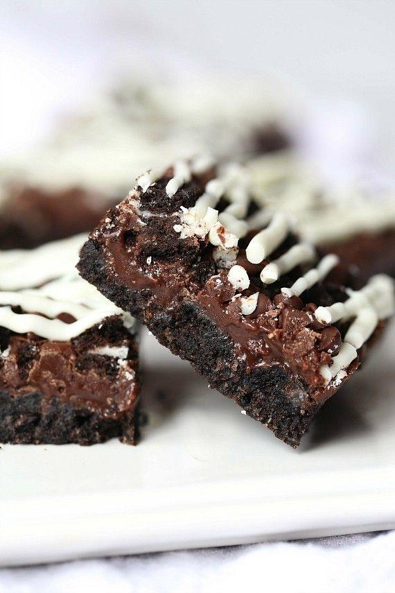 Triple Chocolate Oreo Bars