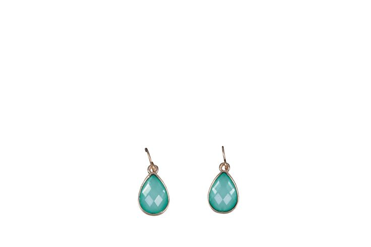 Edgars Blue Tear Drop Earings