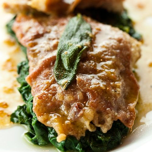 Saltimbocca alla Romana- First tried this in Vicenza and it is SO good. I use chicken cutlets instead of veal.
