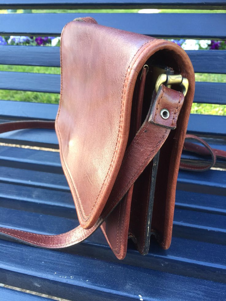boho/chestnut/leather/sholder/crossbody/purse by WifinpoofVintage on Etsy