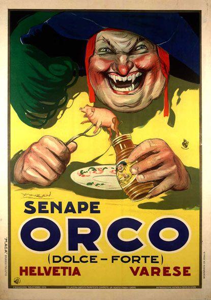 Senape Orco, Varese 1923