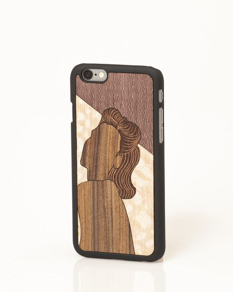 "Edith ""Valuable Leisures"" iPhone cover by Wood'd"