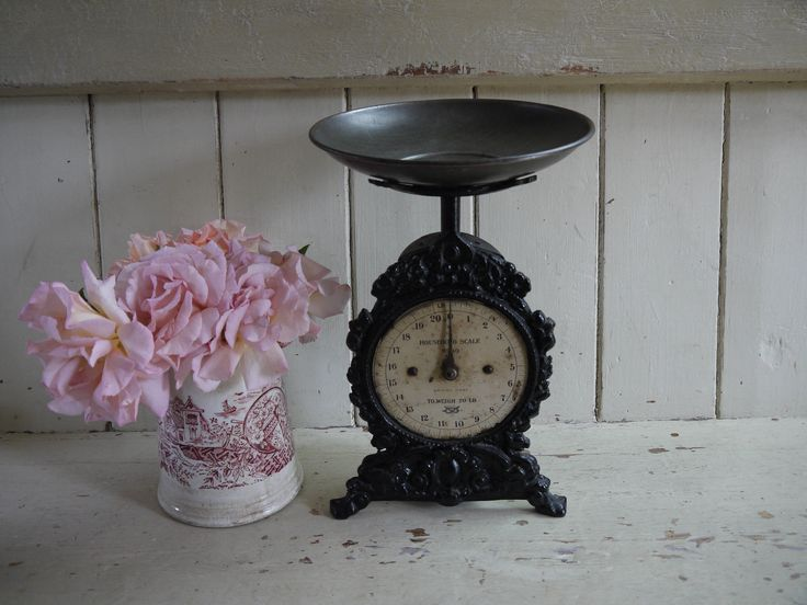 Unusual Victorian Rustic Antique Weighing Scales - Salter Scales by VintiqueTree on Etsy