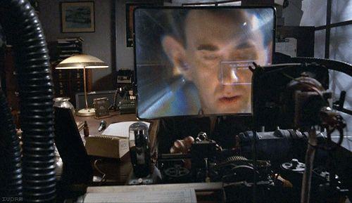 Ce bureau est une parfaite illustration de l'impression de désordre qui doit transparaître dans la pièce.