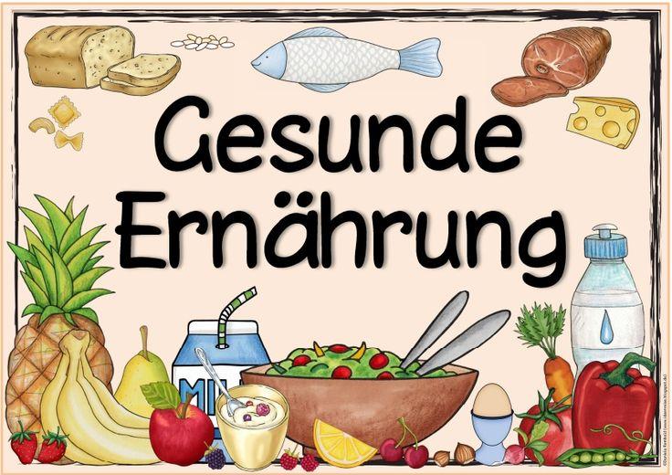 "Ideenreise: Themenplakat ""Gesunde Ernährung"""