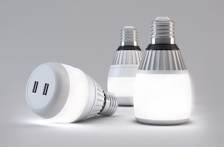 Bulb Charge on Behance