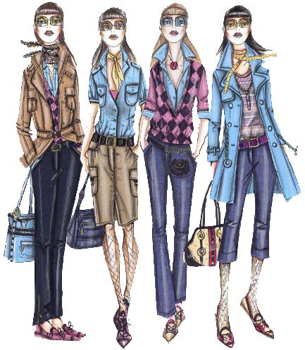 16 best Fashion Sketches images on Pinterest