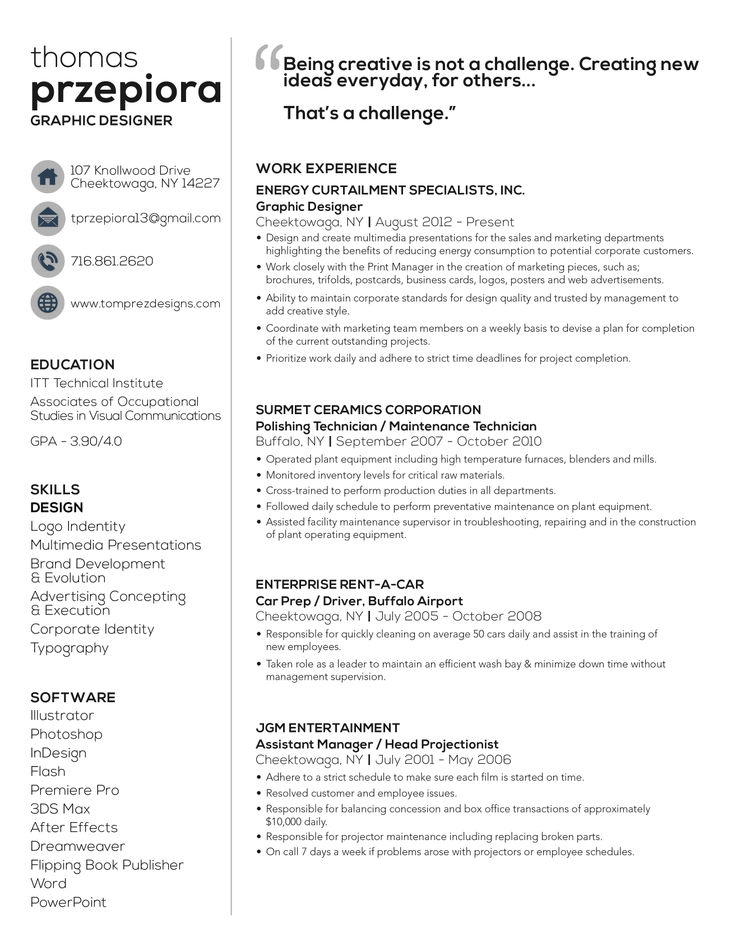 free online resume 8 best resume images on design resume resume 21860