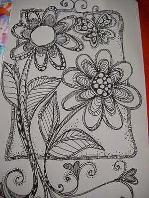 Scrapeando con Rocío: ¡Doodle!
