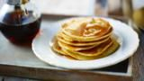 Canada is where this profoundly unique syrup made from the sap of maple trees is made, and these are the pancakes that a certain Madame Lafond made for me when I was in Quebec; delightfully easy but tasting so light and fluffy.