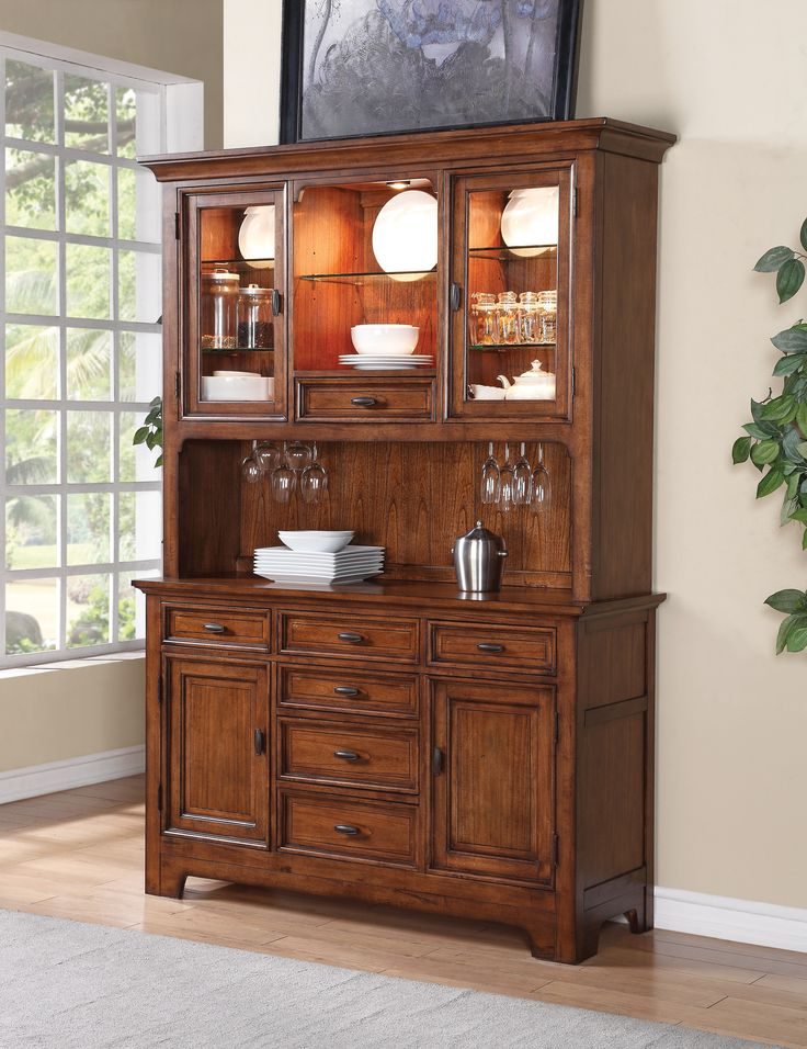 Shop For Flexsteel Hutch And Other Dining Room Cabinets At Goods Furniture In Kewanee IL