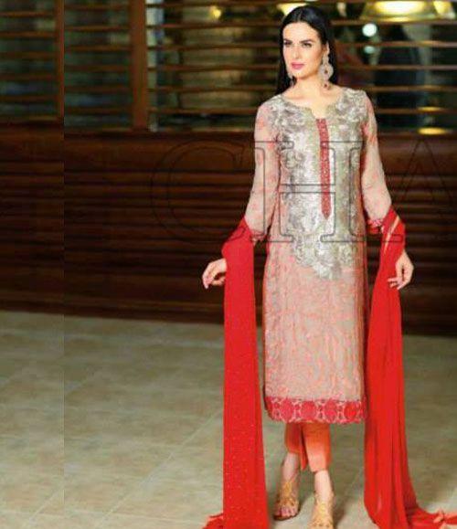 Charizma Luxury Chiffon Festive Collection Design-21