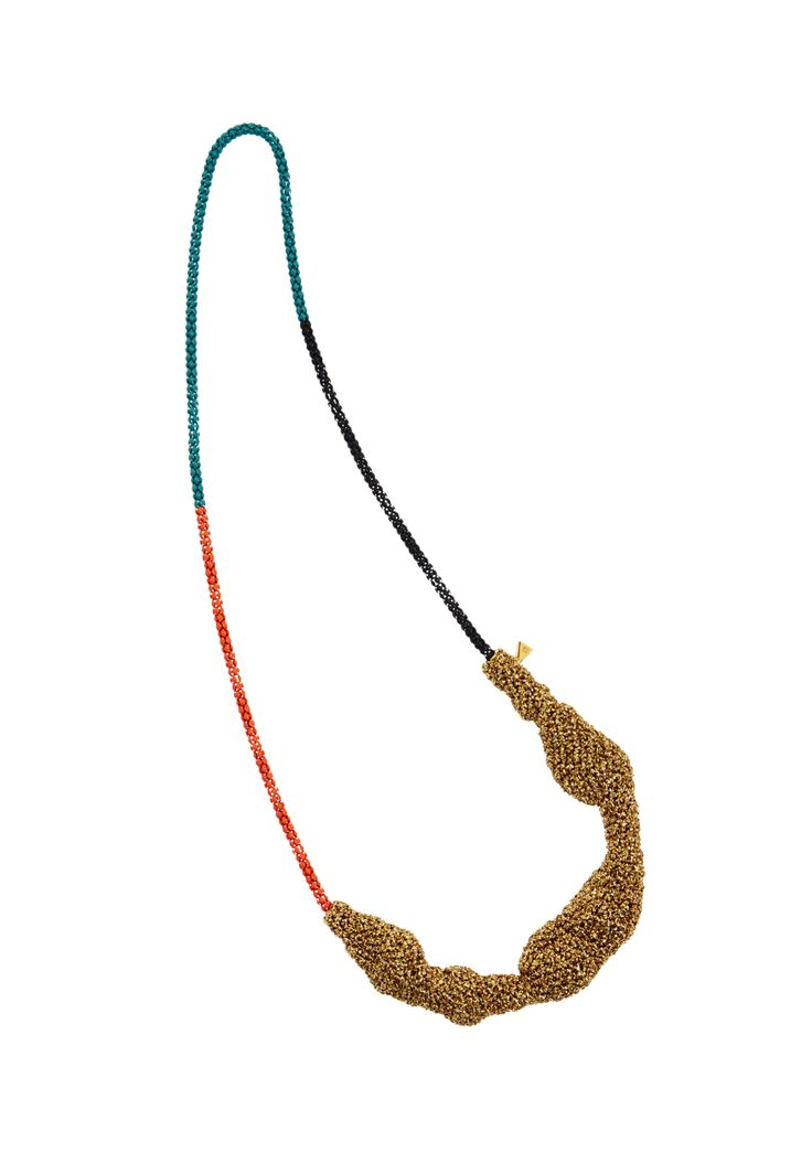 Lucy Folk presents ALL SORTS - Resort 13/14 - THICK CRUST NECKLACE