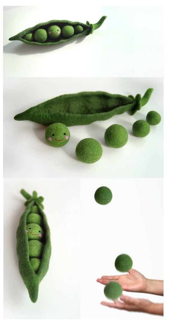 8 best felt key chain images on pinterest felt fabric for Peas in a pod craft
