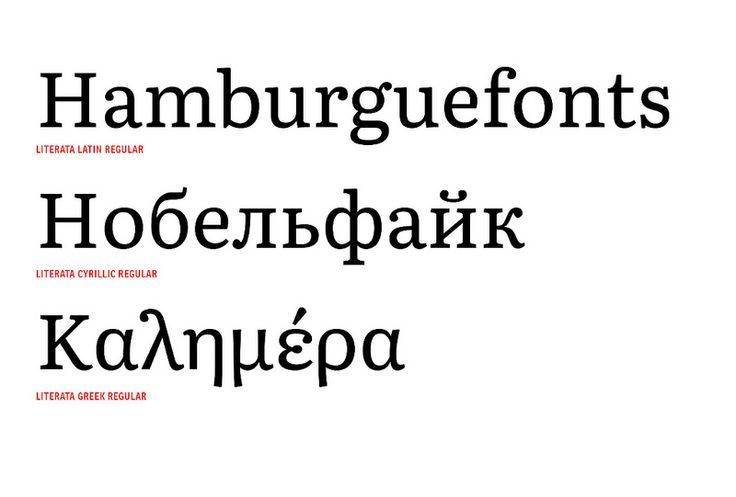 TypeTogether presents Literata, a new tailored type family for the Google Play Books application.