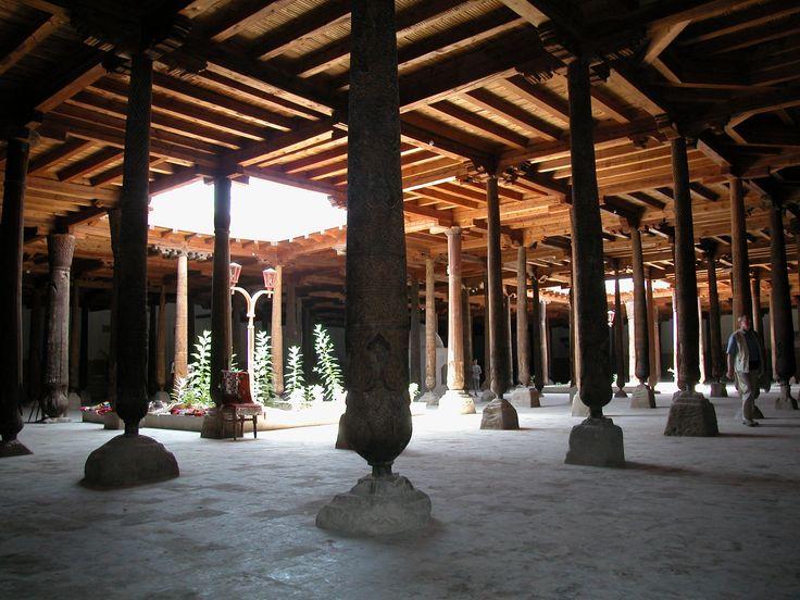"""The Juma Mosque"" in Khiva."