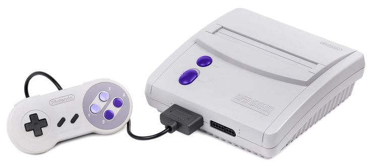 The American Super Nintendo System Model 101, released in 1997.