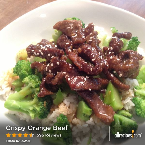fifteen spatulas crispy orange beef recipe yummly crispy orange beef ...