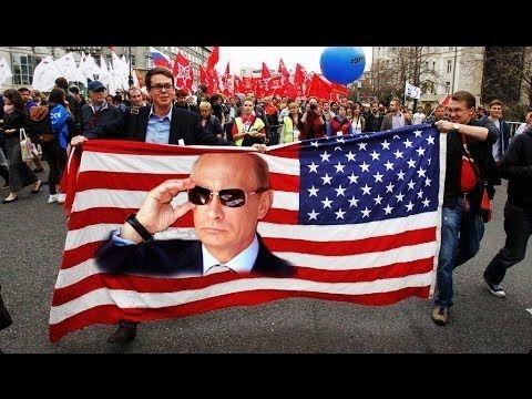 Митинг в США - Путина в президенты США
