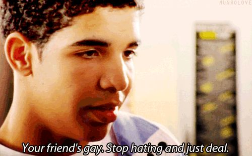 """When he schooled Spinner about Marco's homosexuality. 