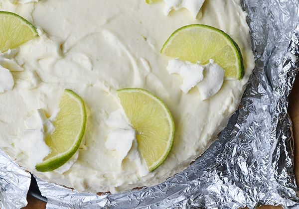 Limoencheesecake (zonder oven) - Ohmyfoodness