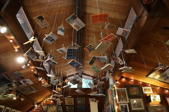Henry Miller Memorial Library in Big Sur, California. most amazing place!
