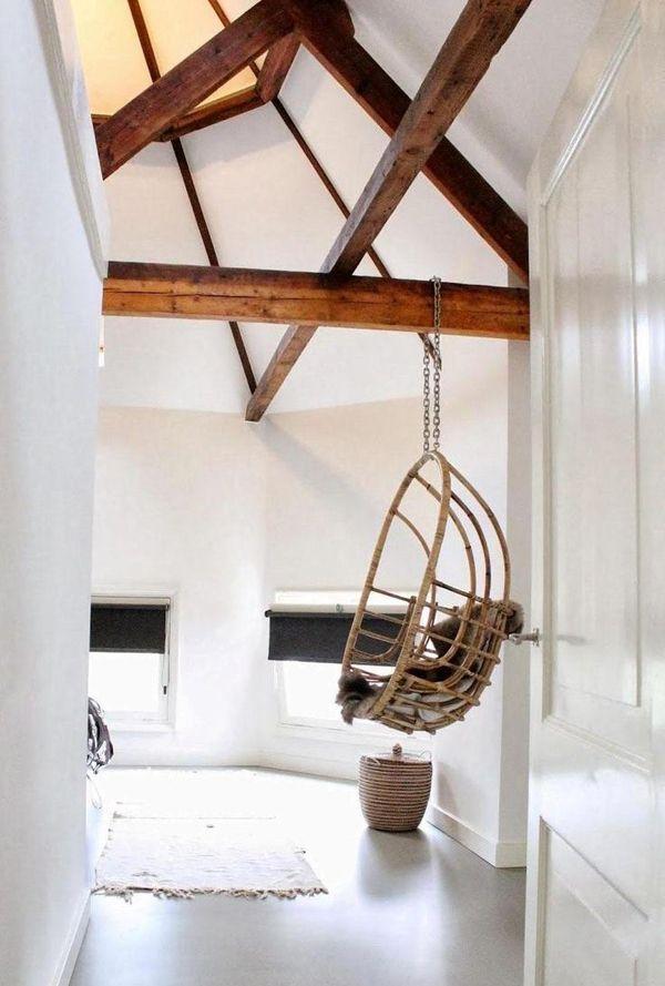Houten balken op je plafond inspiratie - Slaapkamer met zichtbare balken ...