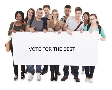 School election slogan