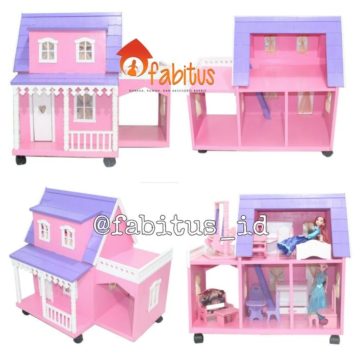Fabitus Barbie House : Arthur Garasi