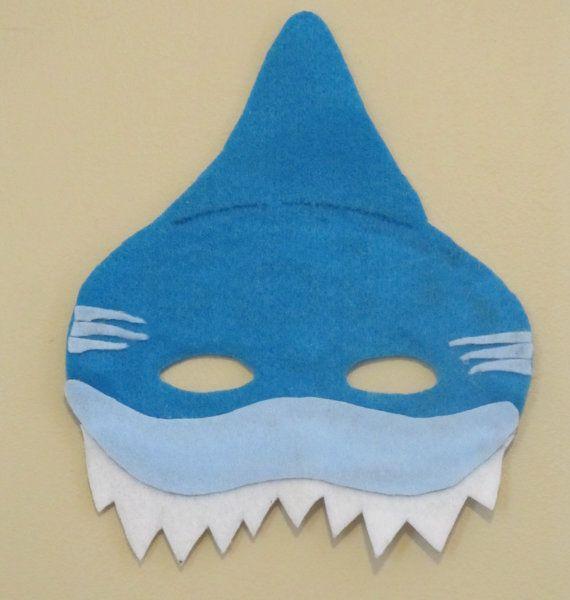 Shark Felt Mask