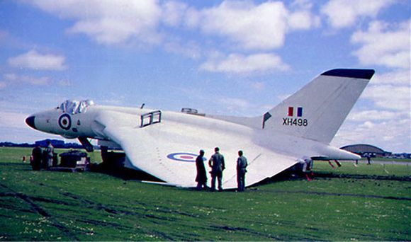 XH558 moves out of Hangar 3 to secure storage. More of your questions answered. http://www.fredandroxanne.com
