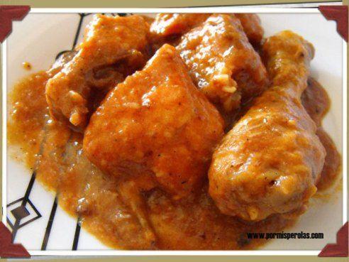 Pollo en salsa de cocacola