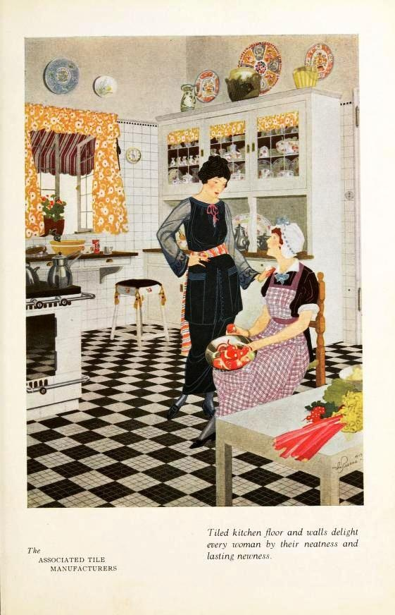 from 'Home Suggestions' 1921 - kitchen