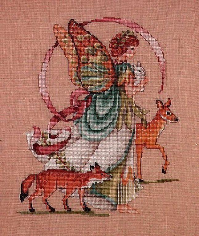 Forest Fairy - 1/3 PUNTADITAS (pág. 186) | Aprender manualidades es facilisimo.com