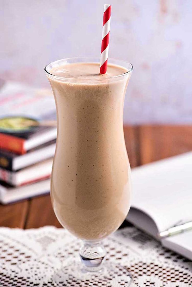 Breakfast Coffee Banana Smoothie! Kick start your morning (or your afternoon or evening!) with this easy smoothie made with bananas, yogurt, and Folgers Instant Coffee. It's the perfect indulgence whenever you need a quick pick-me-up! #recipe #tip #Folgers #ad   HomemadeHooplah.com