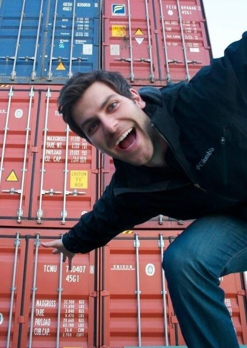 David Giuntoli, better known as Nick from Grimm. I watch that show because of the story... Who am I kidding? My favorite episodes are the ones where he's dressed in red ;)
