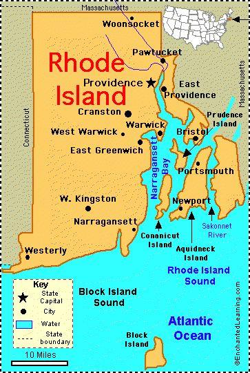 Their hometowns: Bristol, Cranston, Cumberland, Middletown, Narragansett-2, Newport, North Kingstown-2, North Providence-2, Providence-4, Tiverton, Warwick-2.