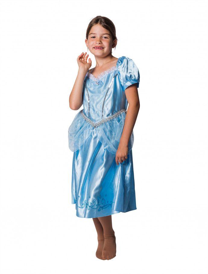 Kleid Prinzessin Kinder Hellblau Fur Karneval Fasching Deiters Madchen Prinzessin Kleid Dress Girl Blau Lang Kinder Lassiges Kleid Modestil Kleider