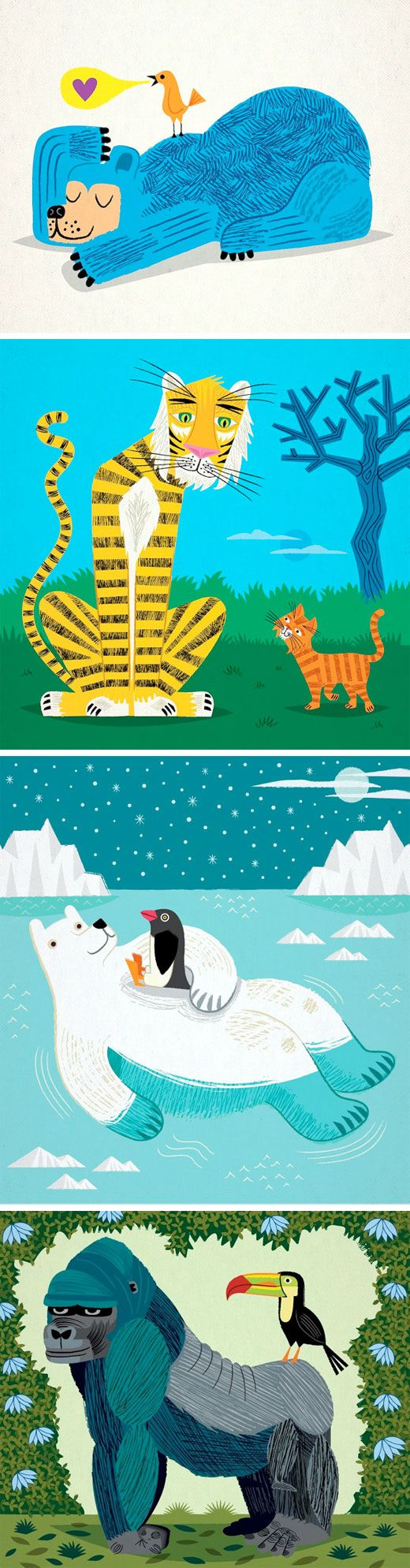 Oliver Lake from iota illustration is one of the coolest professional children's book illustrators around town.