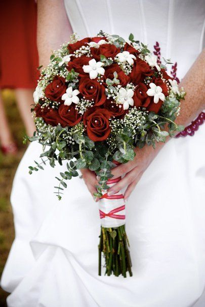 Red And White Wedding Flowers Bridal Bouquets Wedding Bouquets Wedding Flowers June Wedding Red