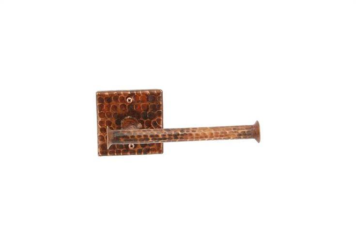 Hand Hammered Copper Tissue Paper Holder
