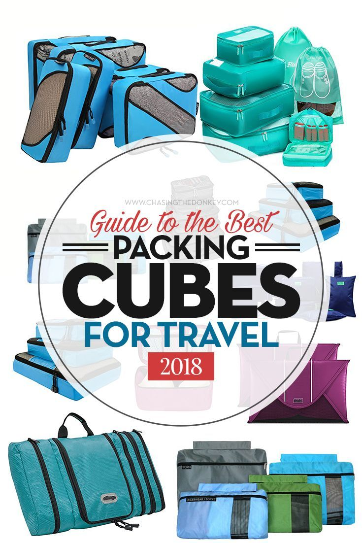 Are packing cubes worth it? Yes! Check out our top suggestions for the best packing cubes. #TravelTips #PackingTips