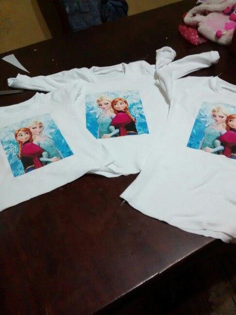 Camisetas para pijamas frozen