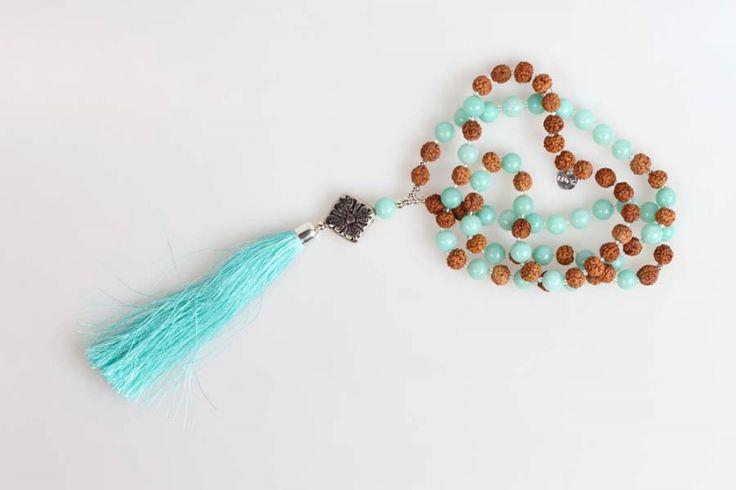tassel yoga necklace