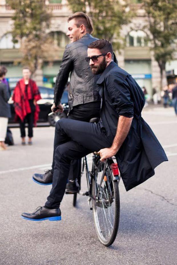 Street Style: Pedalando com estilo