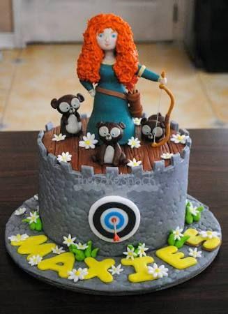 merida brave cake - Google Search