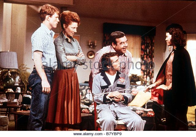 Happy Days Happy Days Année 1974 TV Series 1974 1984 usa HENRY WINKLER RON HOWARD MARION ROSS TOM BOSLEY - Stock Image