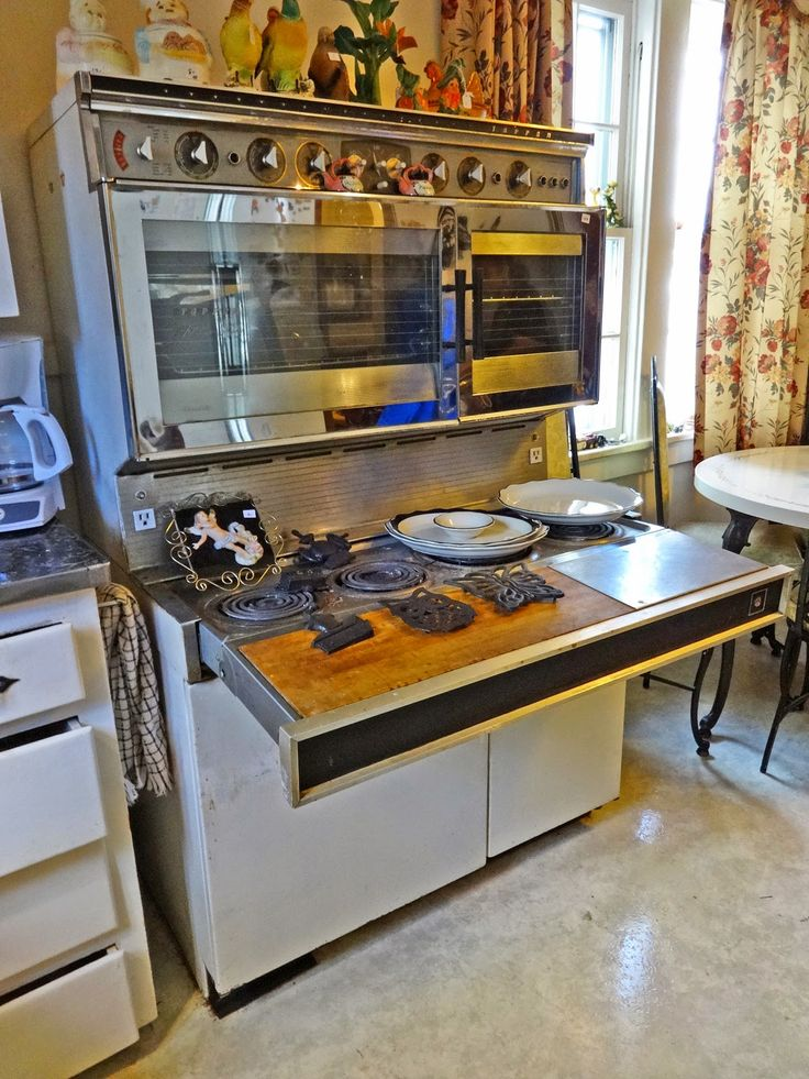 Retro Kitchen Stoves Free Standing Islands With Seating Tappan 400 Stove | 1960s Ovens, ...
