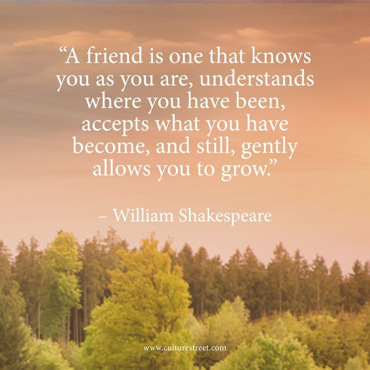 Daily Inspiration: A Friend Is One That Knows You As You Are, Understands Where You Have Been